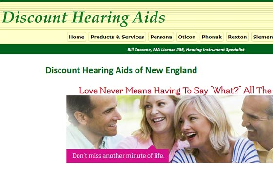 Discount Hearing Aids of New England